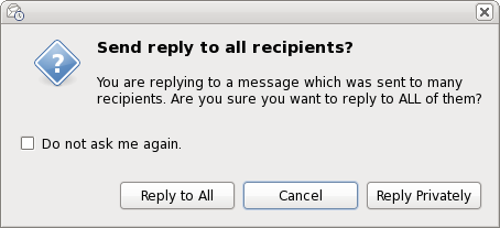 Evolution nag pop-up for replying to too many recipients